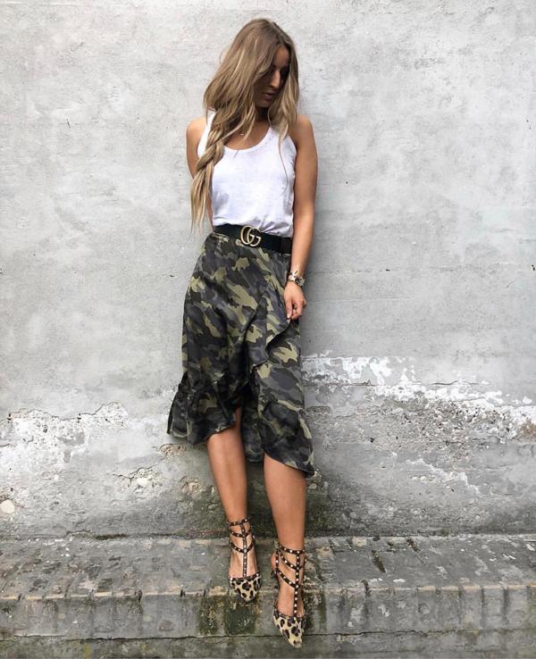 Điểm qua danh mục những món đồ hot trend mùa hè thu 2018, các nàng sành điệu không thể ngó lơ mốt váy vạt xéo.