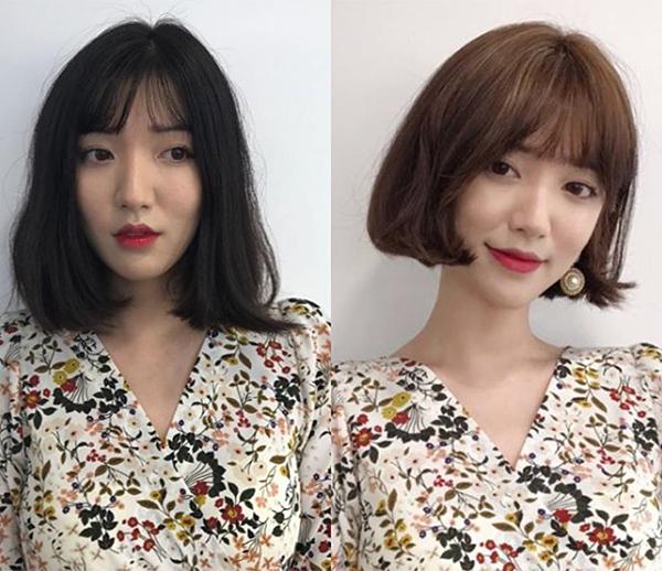 Mái tóc có ý nghĩa rất quan trọng với gương mặt. Một mái tóc phù hợp không chỉ giúp bạn che đi những khuyết điểm trên gương mặt, mà còn có thể giúp nhan sắc lên đời. Nhiều cô gái Hàn Quốc nhờ chọn được kiểu tóc phù hợp mà cũng như biến thành một người khác hẳn.