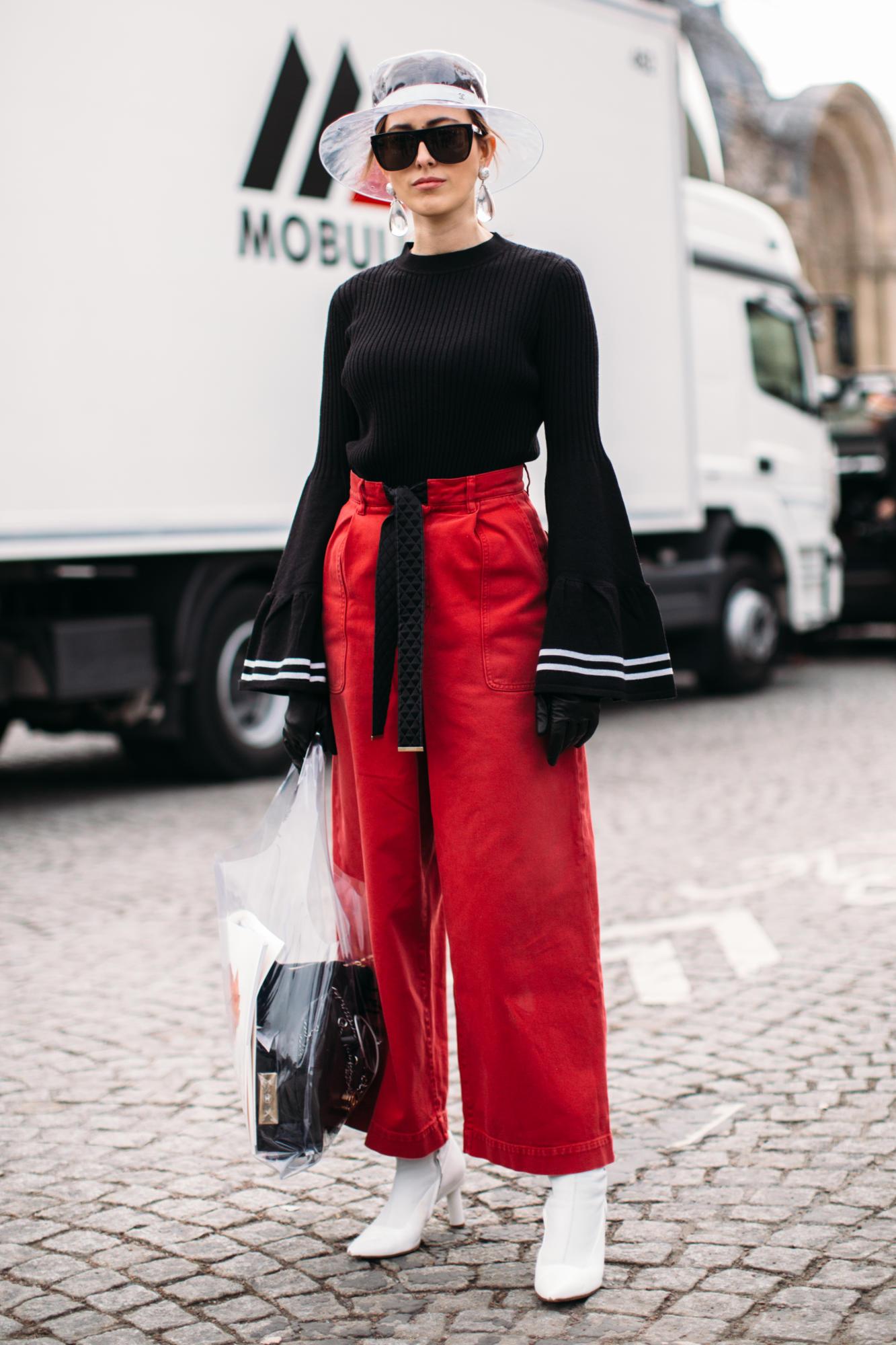 Thương hiệu Chanel street style Tuần lễ thời trang Paris 4