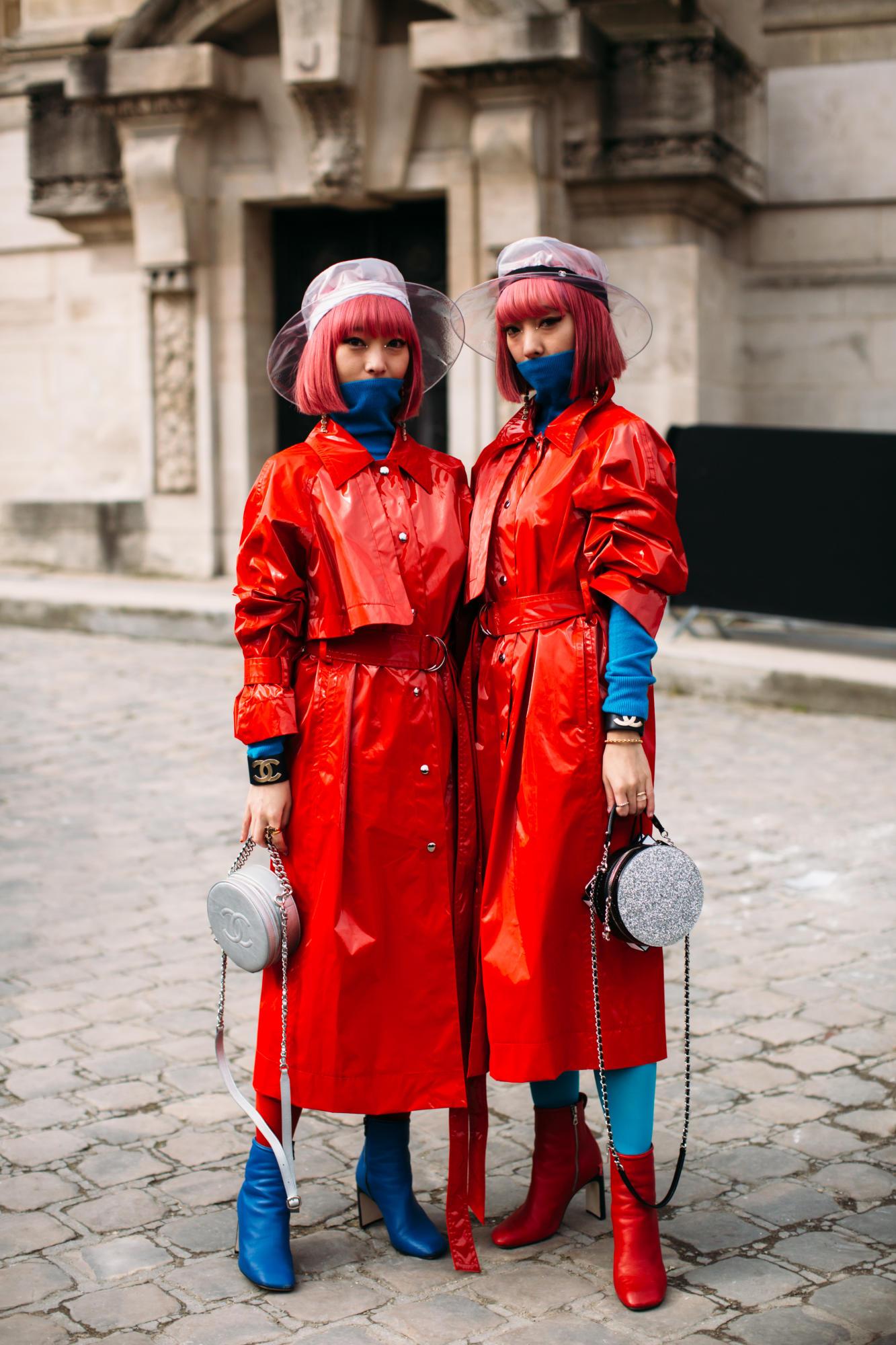 Thương hiệu Chanel street style Tuần lễ thời trang Paris 5