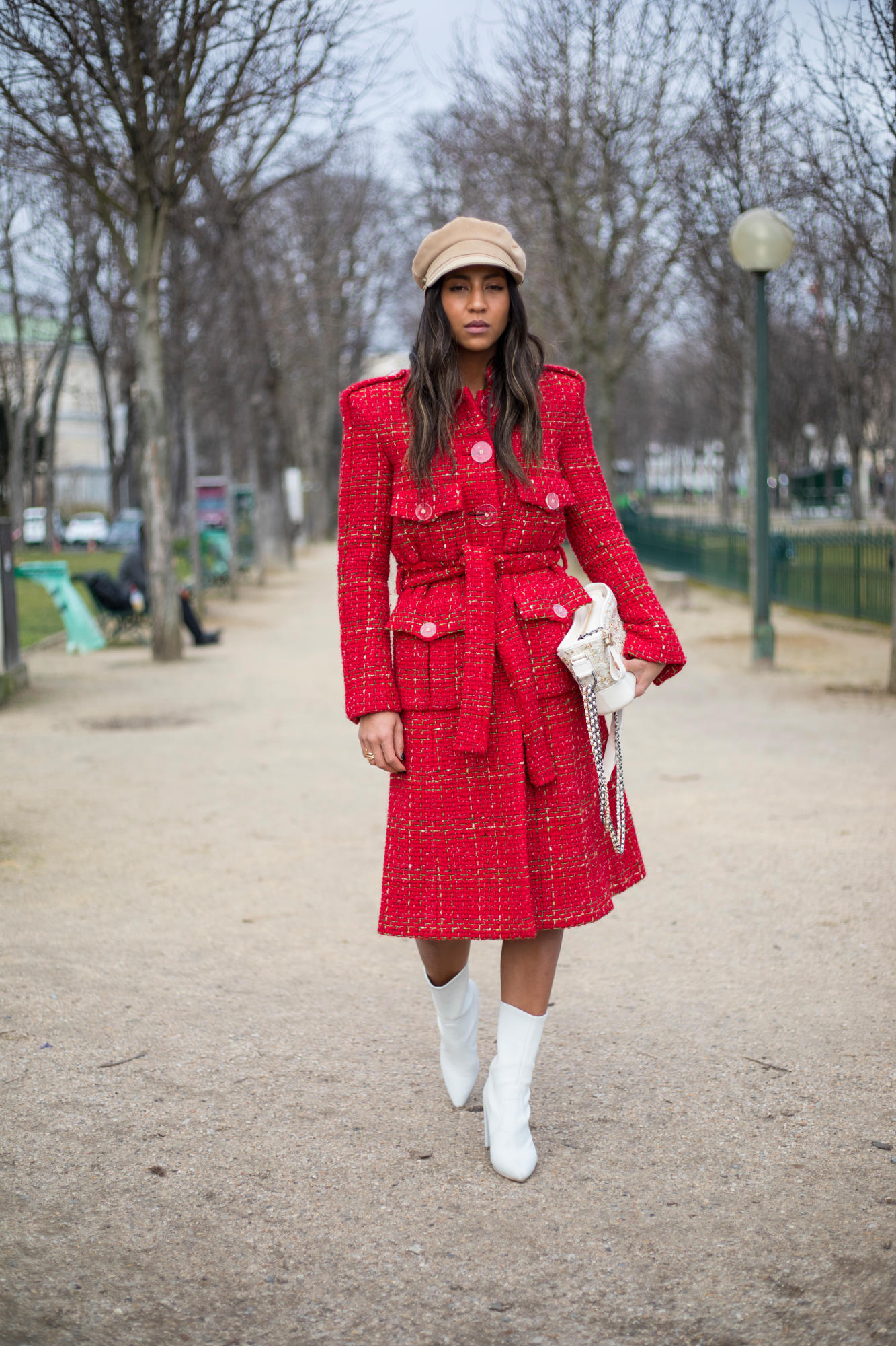 Thương hiệu Chanel street style Tuần lễ thời trang Paris 9