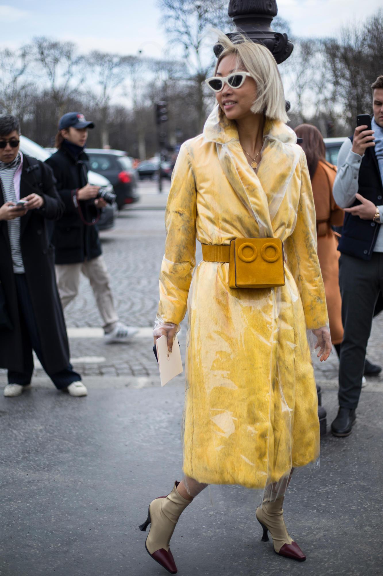 Thương hiệu Chanel street style Tuần lễ thời trang Paris