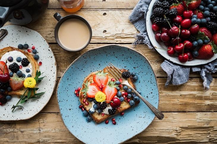 hoa quả trong thực đơn giảm cân