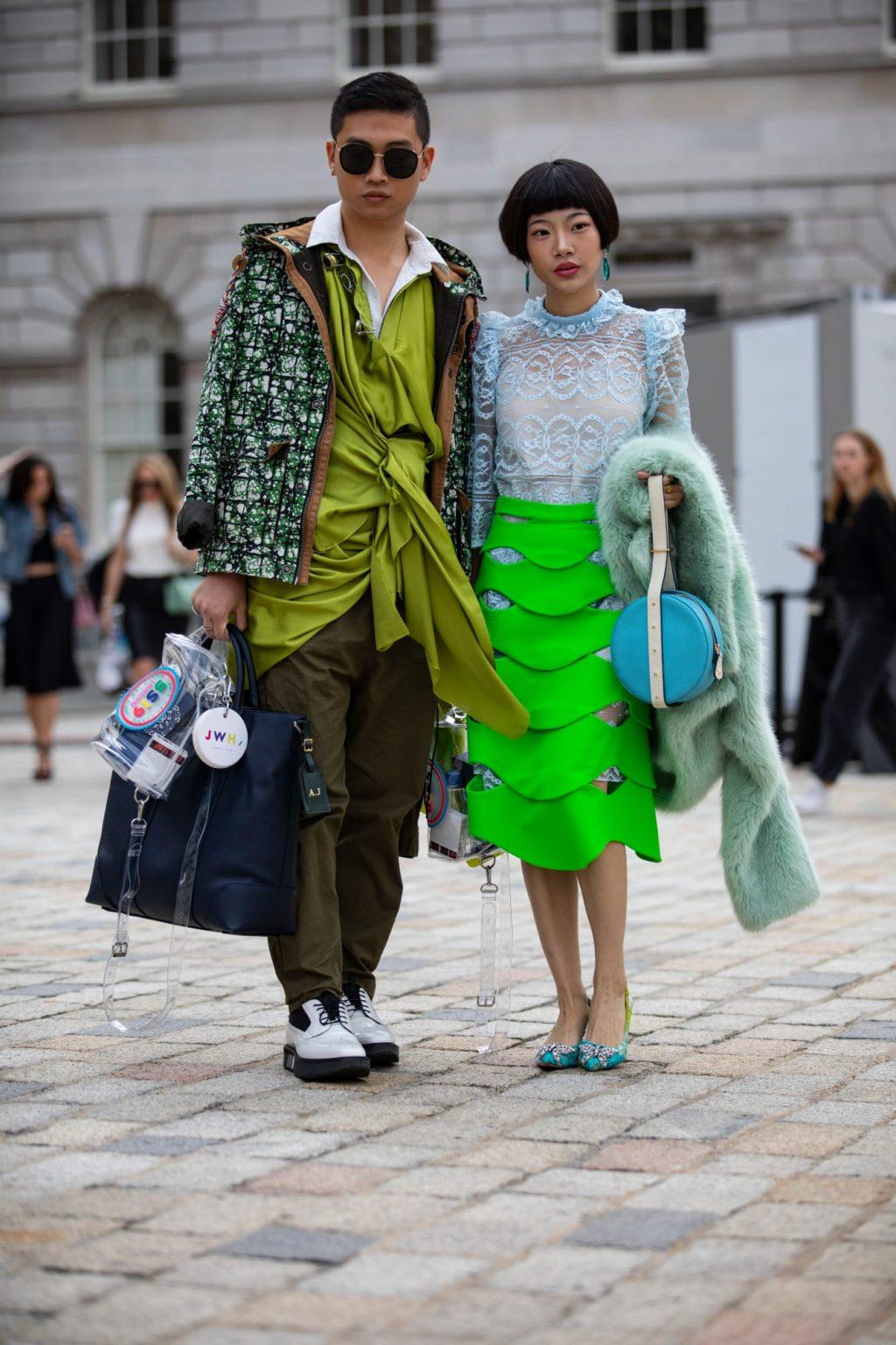 tuần lễ thời trang London 2019 7