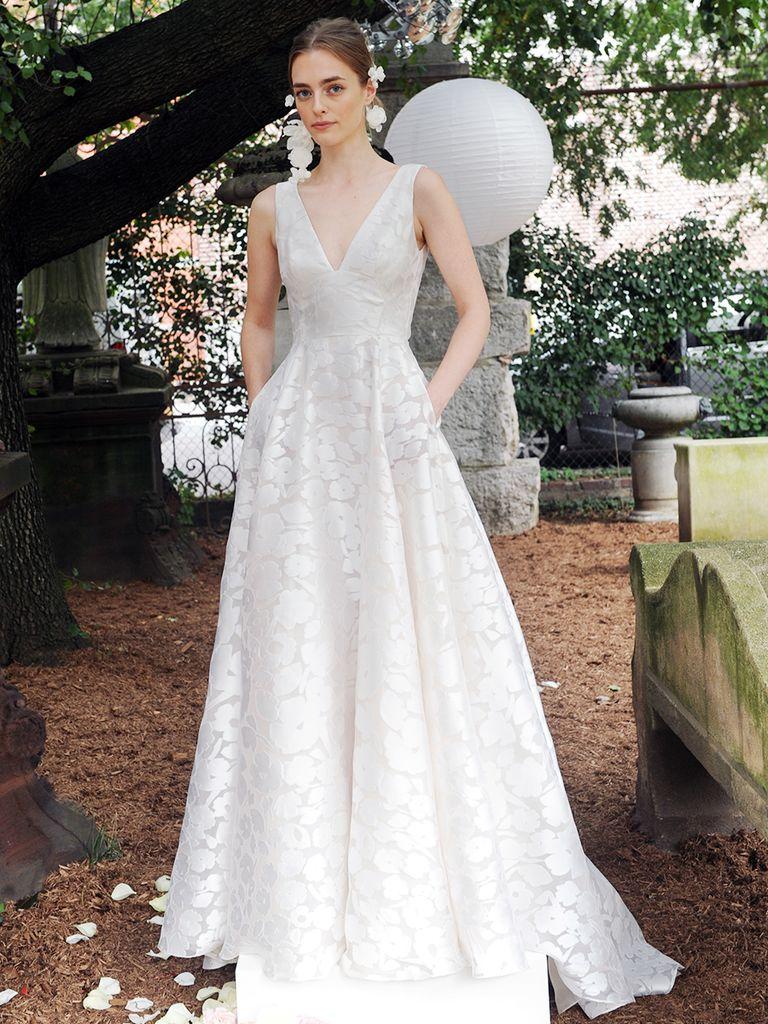 Váy cưới có túi 1