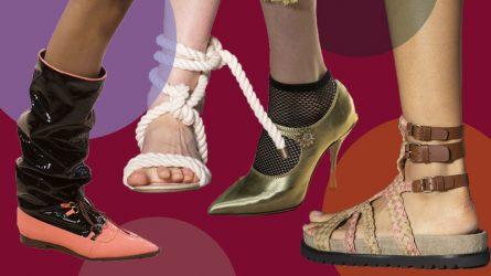 Cập nhật 7 xu hướng giày nổi bật từ Tuần lễ thời trang Xuân - Hè 2019