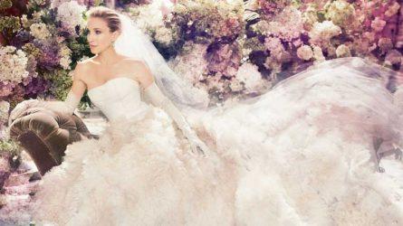 Biểu tượng thời trang Sarah Jessica Parker ra mắt bộ sưu tập áo cưới