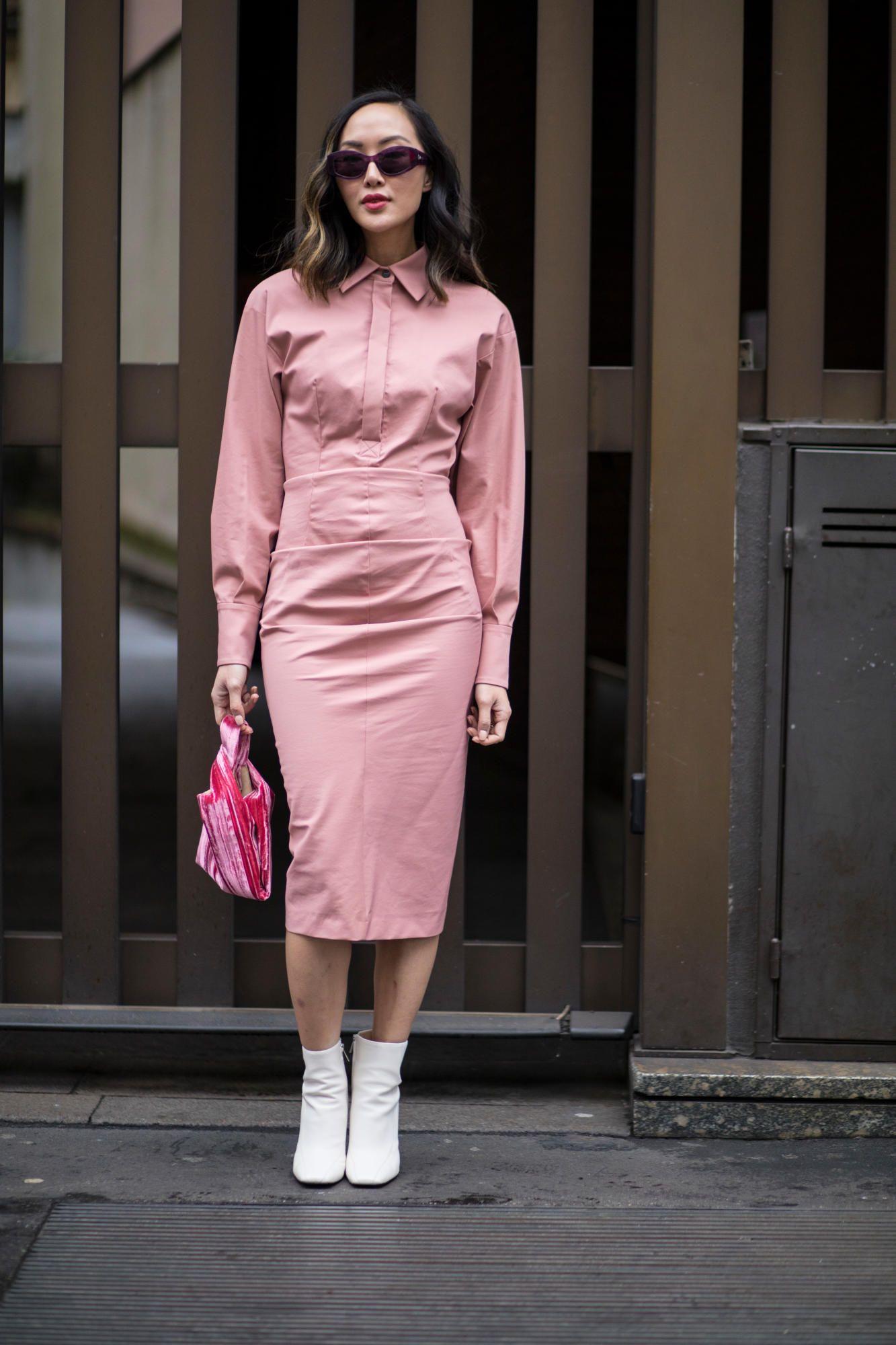 trang phục màu hồng millennial 4
