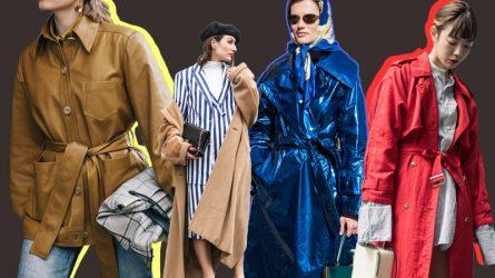 Những mẫu áo trench coat tuyệt đẹp của mùa mốt Thu – Đông 2018