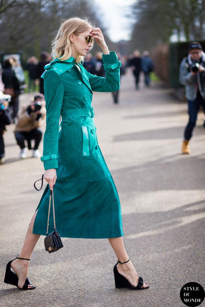 trang phục xanh ngọc lam elle việt nam 6