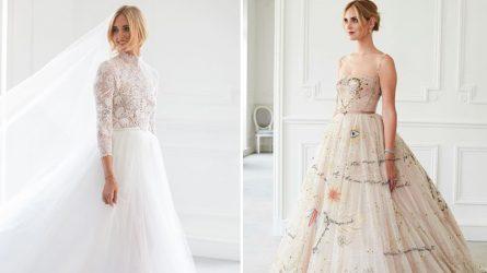 Giới thời trang trầm trồ trước 3 bộ váy cưới xa hoa của Chiara Ferragni đến từ thương hiệu Dior