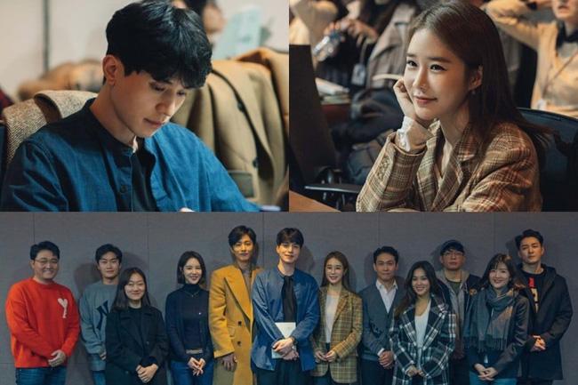 Cặp đôi nhan sắc Lee Dong Wook - Yoo In Na đẹp hết nấc trong buổi đọc kịch bản phim mới - Ảnh 1.