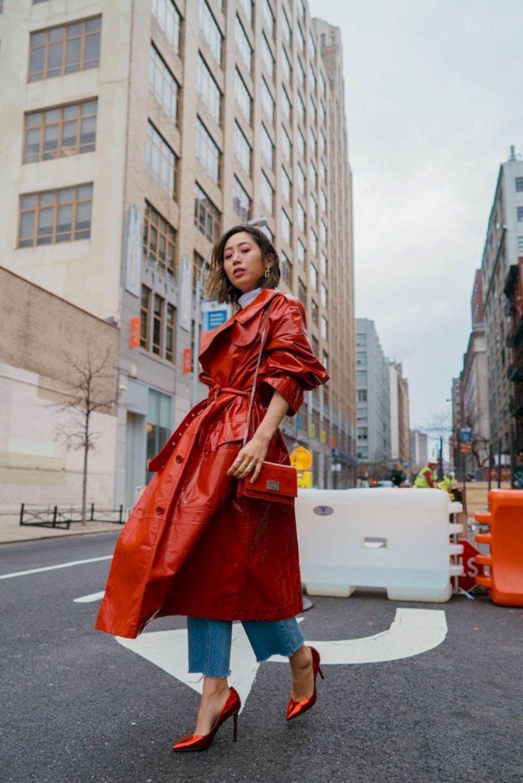 Những mẫu áo trench coat lên ngôi trong mùa mốt Thu – Đông 2018 10