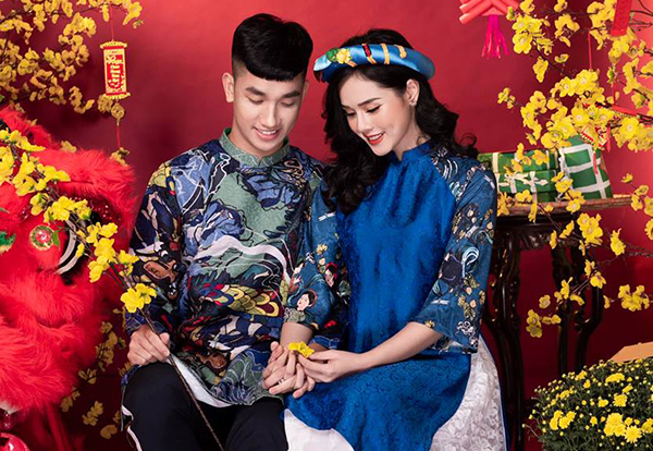 Huyền Trang được nhiều khán giả biết đến với tư cách là bạn gái của tuyển thủ U23 Việt Nam Nguyễn Trọng Đại. Cặp đôi đã hẹn hò được khoảng nửa năm, thường xuyên khoe ảnh tình tứ trên trang cá nhân.