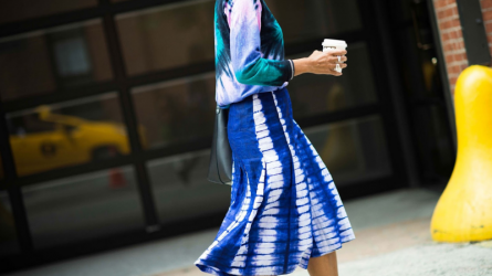 Xu hướng thời trang tie-dye: Sự trở lại ngoạn mục sau hơn thập kỷ ẩn mình lặng lẽ
