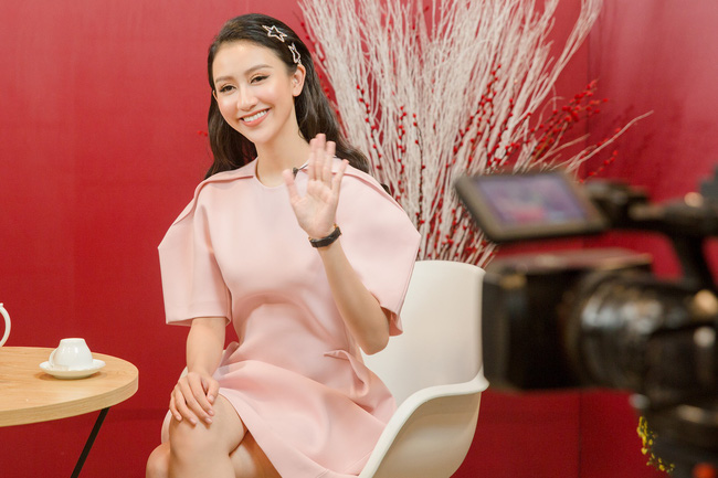 Á hậu Hà Thu: Tôi thích áp lực của người nổi tiếng - Ảnh 6.