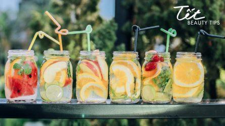 Ăn uống thả ga ngày Tết không sợ tăng cân với các loại nước uống detox đơn giản