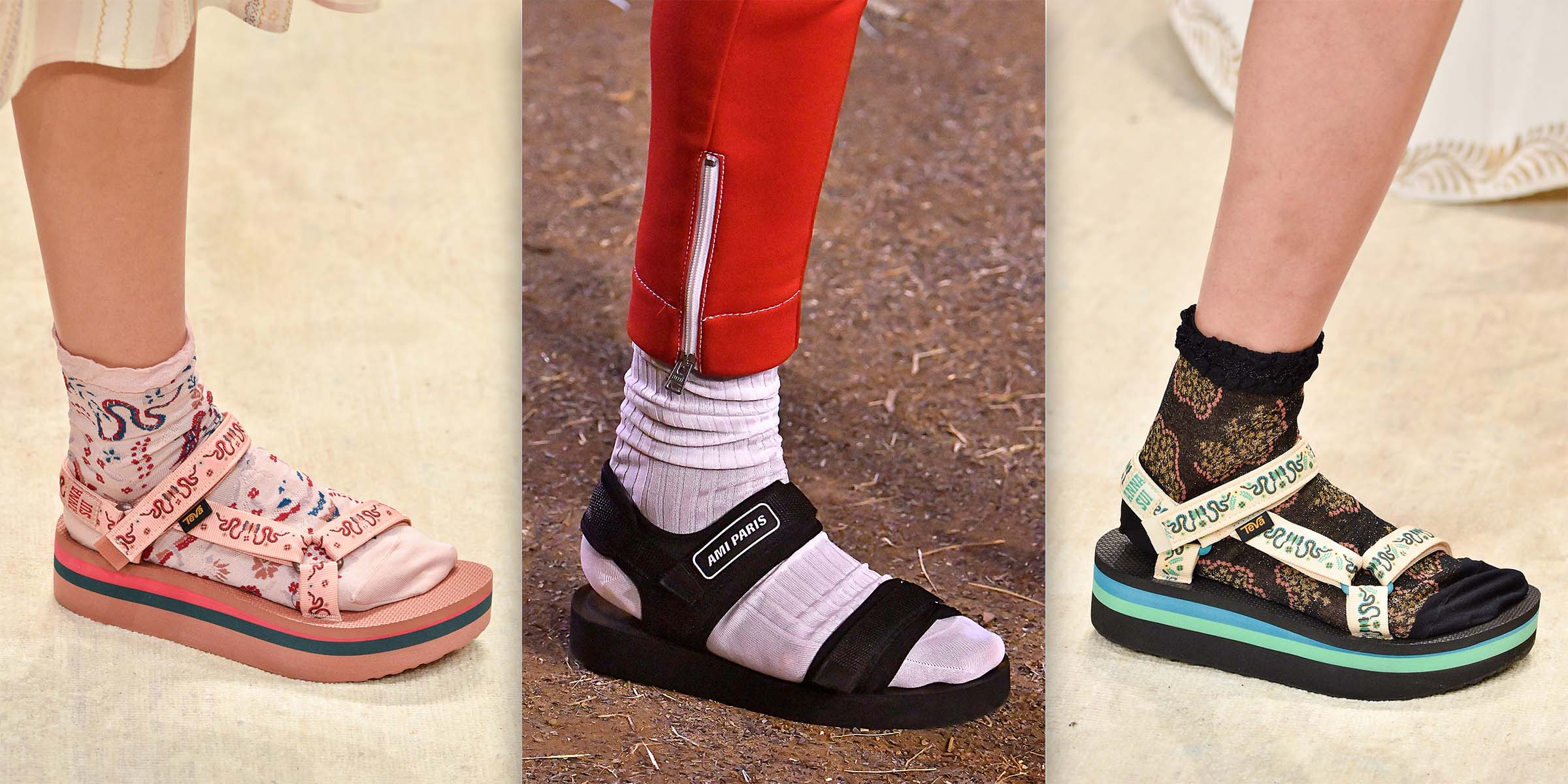 xu hướng giày sandals hè 2019