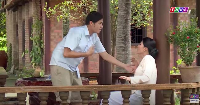 """""""Luật trời"""": Choáng với cảnh Trang (Ngọc Lan) bắt ép cậu chủ cưỡng bức cháu gái Bích - Ảnh 6."""