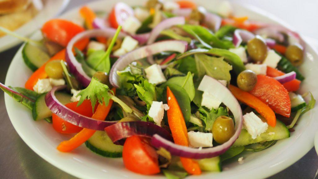 ăn kiêng - salad