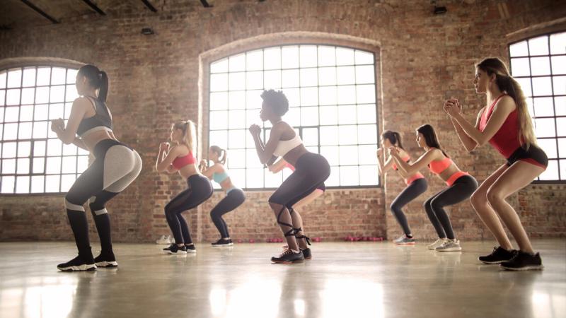 squat - bài tập