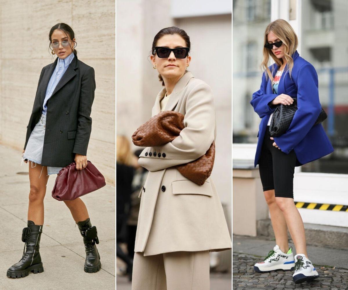 3 fashionista mang túi cầm tay pouch clutch thời trang đường phố street style
