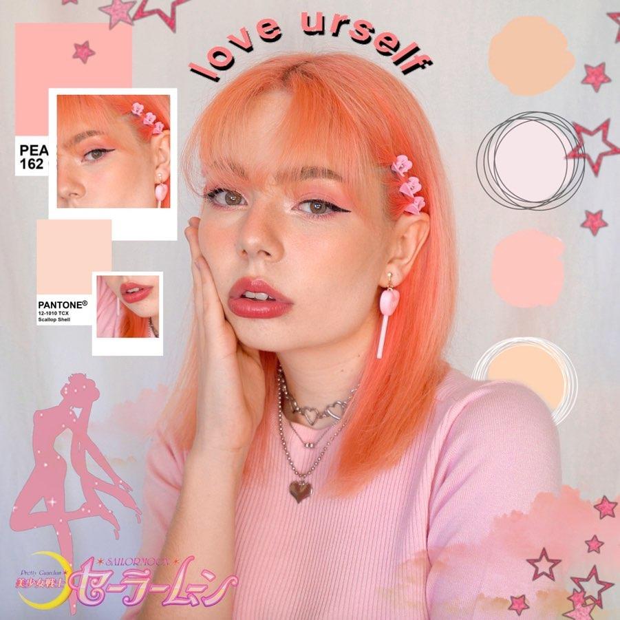 Phụ kiện tóc kẹp nhựa màu hồng