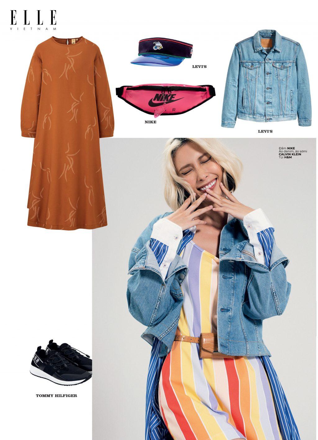 phong cách thời trang streetwear trang phục denim