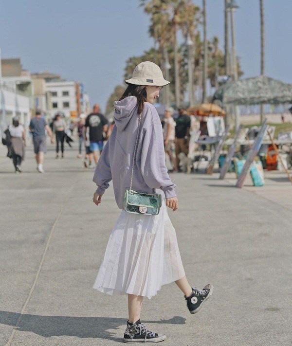 Kiểu chân váy được biên tập viên Thu Hương ưa chuộng - Ảnh 14.