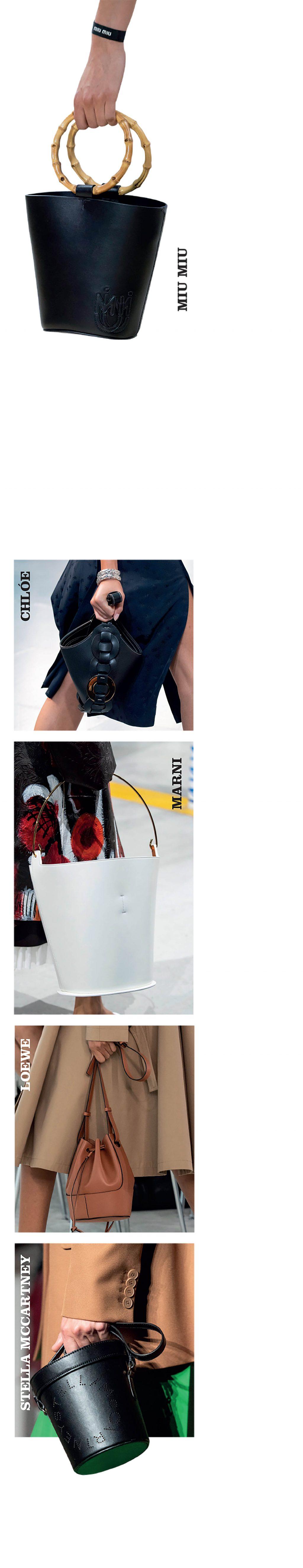 phụ kiện thời trang chiếc túi bucket