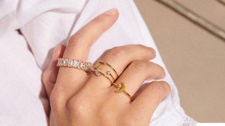 Xu hướng đeo nhẫn nữ theo bộ: Nghệ thuật trên từng ngón tay