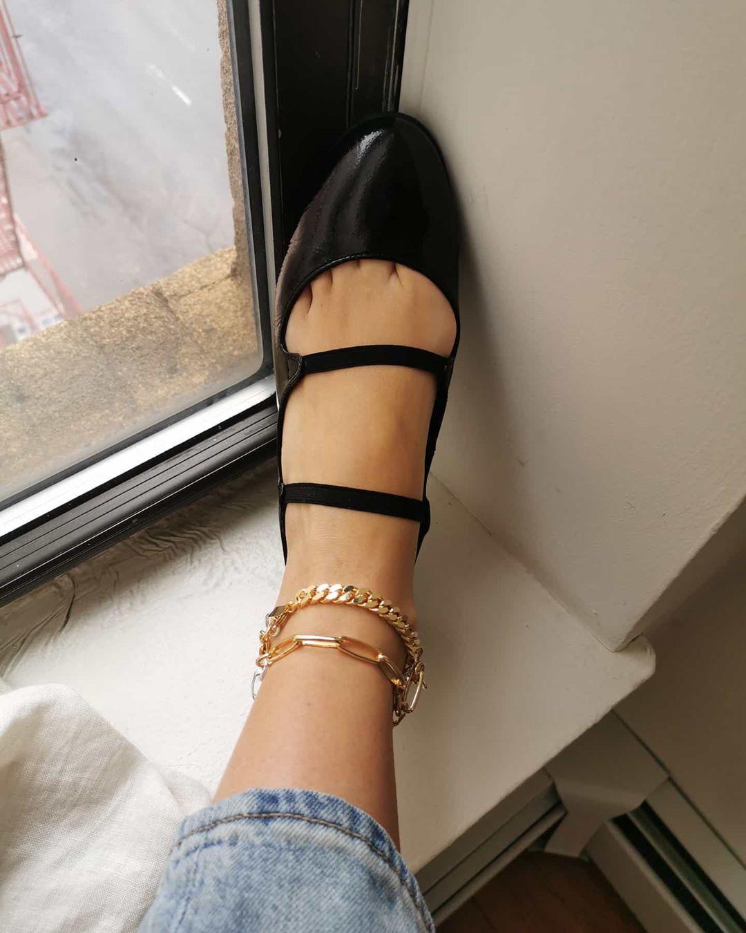 lắc chân xích vàng