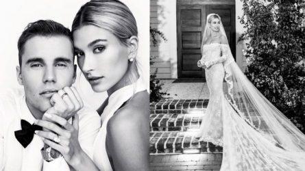 Bí mật về váy cưới của Hailey Bieber cuối cùng đã được