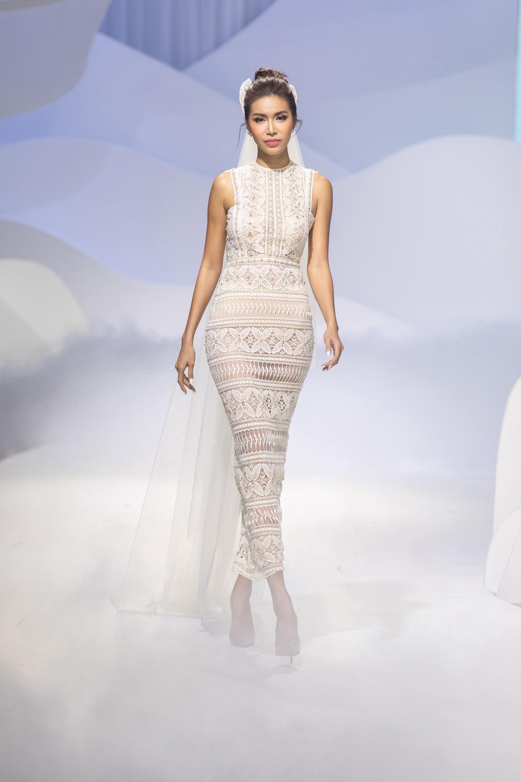 váy cưới đan móc decos