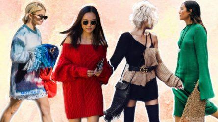 Sành điệu và ấm áp với các kiểu váy sweater trong mùa Đông
