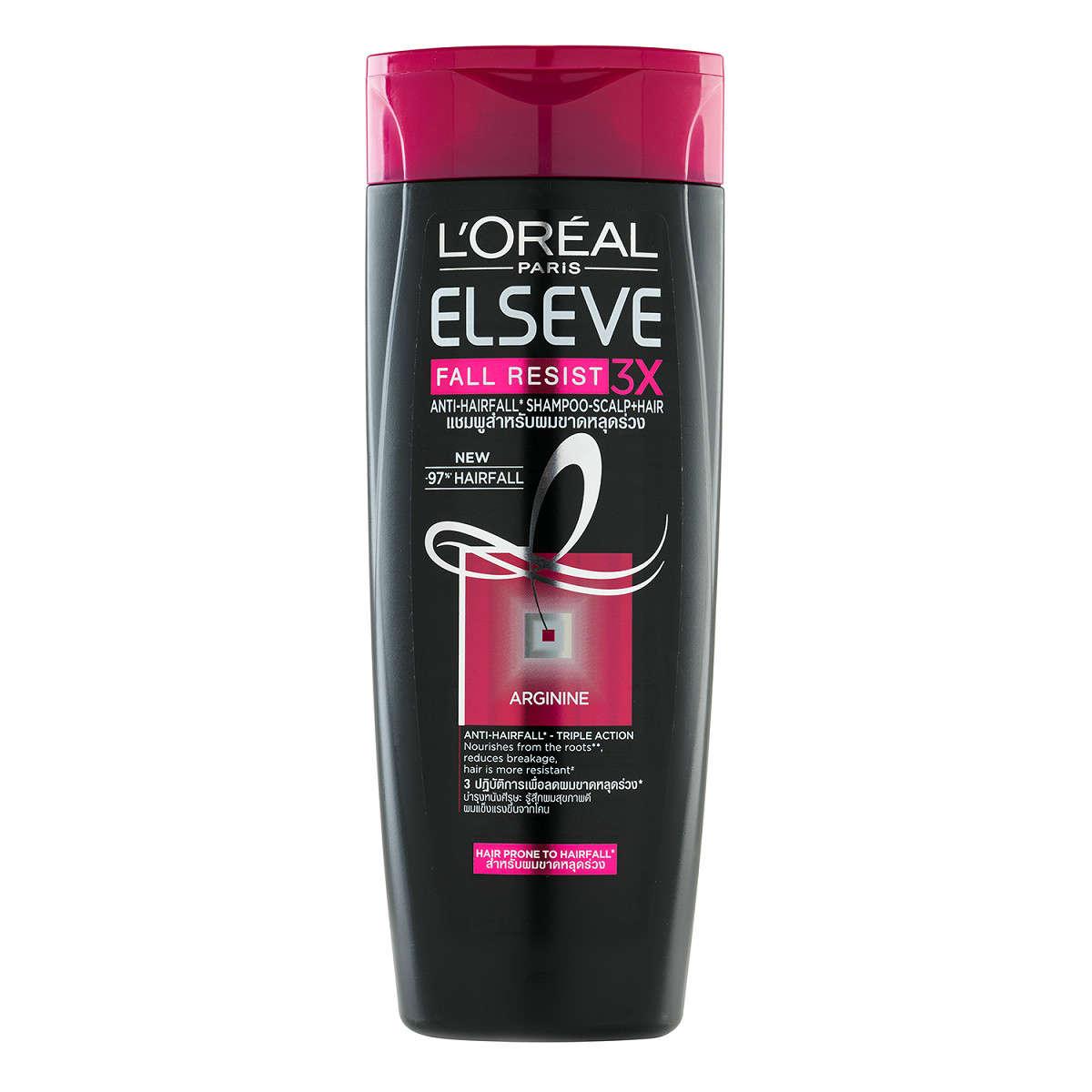 Dưỡng tóc-L'Oreal Paris Elseve Fall Resist 3X Shampoo.