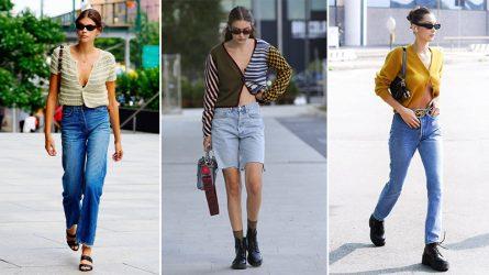 5 kiểu áo cardigan lửng làm